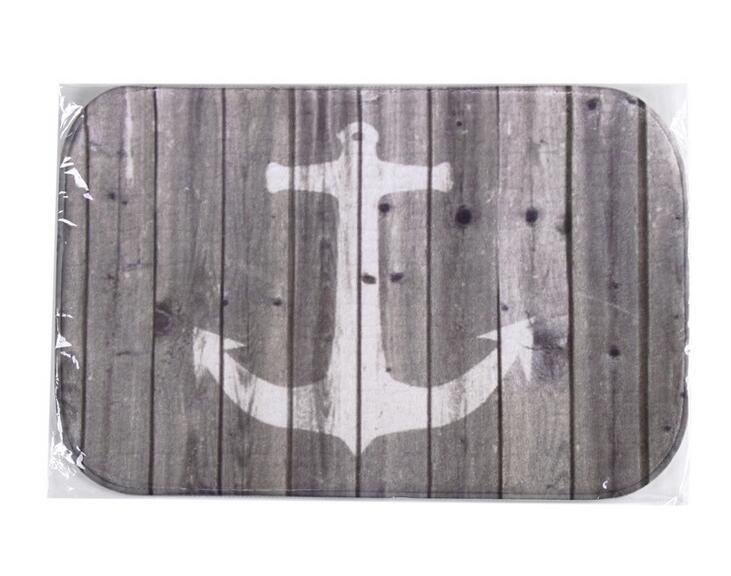 40*60cm anchor Bath Mats Anti-Slip Rugs Coral Fleece Carpet For For Bathroom Bedroom Doormat Online