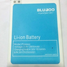 Ocolor for Backup Bluboo Picasso Battery For 2800mAh Bluboo Picasso Smart