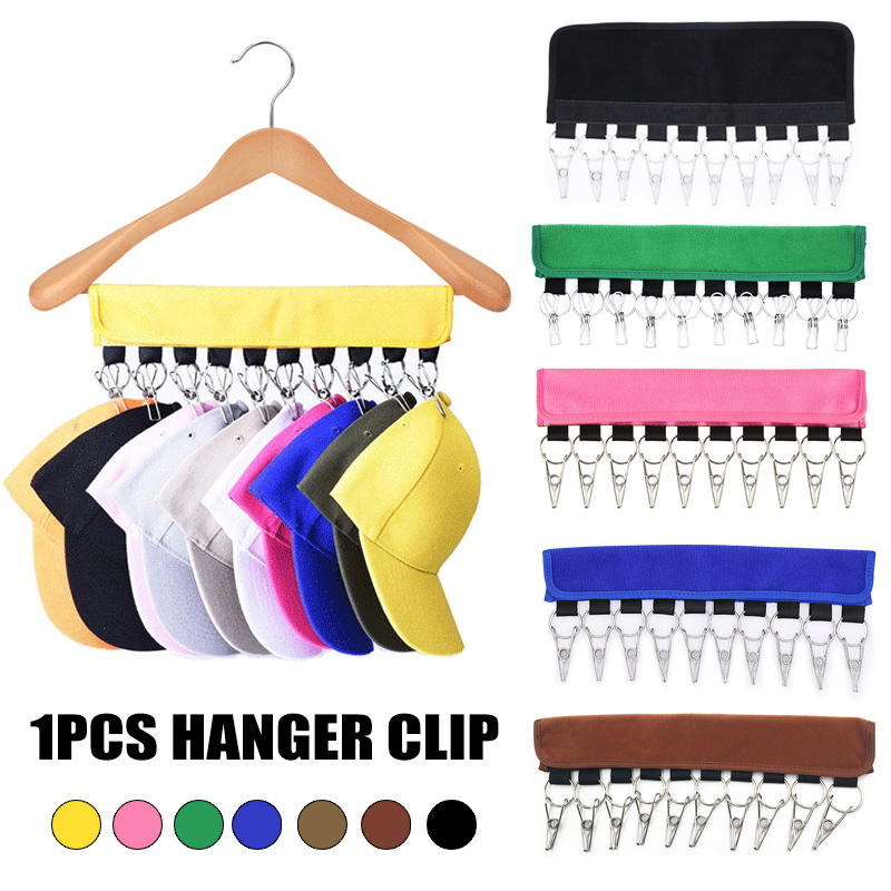 Cap Organizer Hanger 10 Baseball Caps Holder Hats Organizer For Closet Hogard