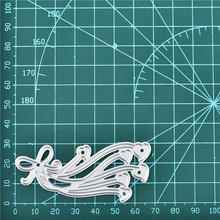 Naifumodo маленькие сердца штампы лук металла резки для изготовления карт Скрапбукинг штамп для теснения с вырезами трафарет ремесло для штампов