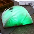 Складной СВЕТОДИОДНЫЙ Ночник Творческий СВЕТ Книги Свет Лампы Новизна Декоративные USB Аккумуляторная Лампы Сменные Лампы Орнамент