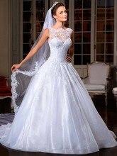 2014 Best Selling Organza Wedding Dress See Through Corset Bridal Gowns Vestido De Noiva