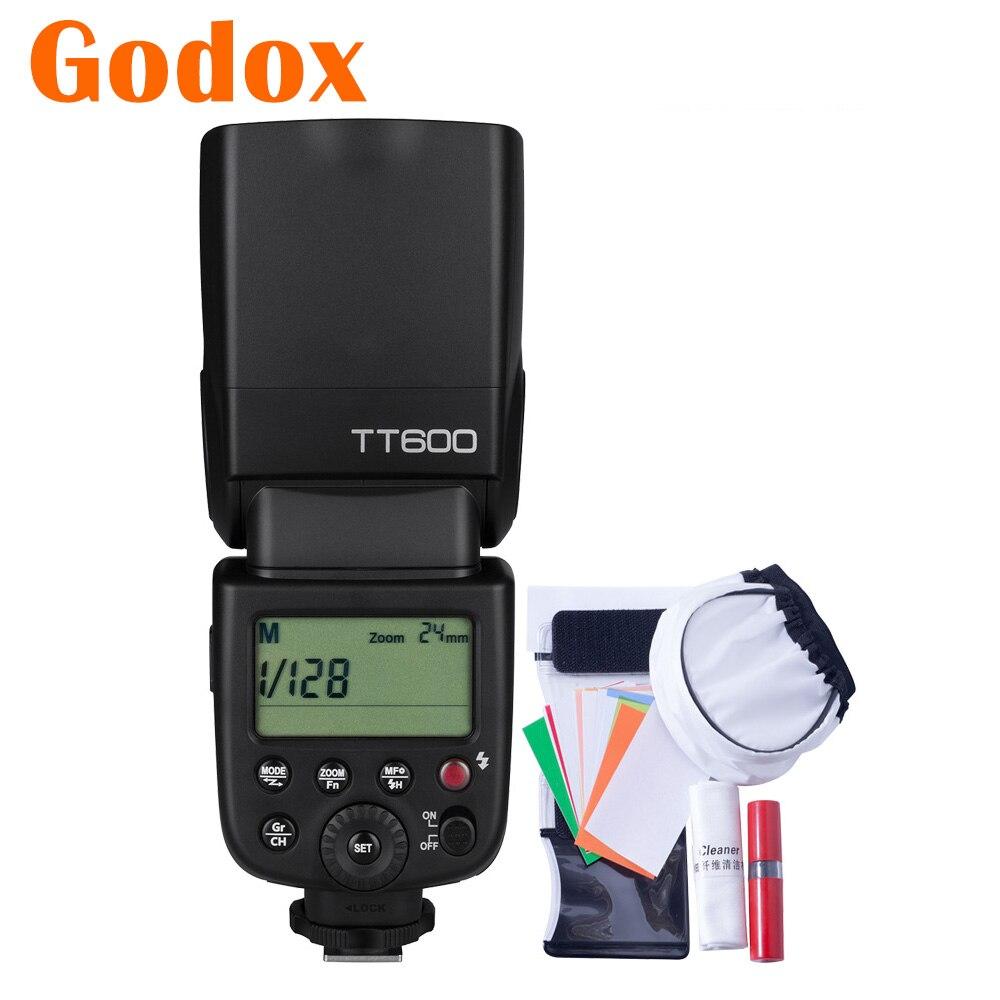 Godox TT600 2 4G HSS GN60 Master Slave Camera Flash for Canon Nikon Pentax Olympus Fujifilm