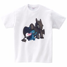 Boy Summer T Shirt Newest How To Train Your Dragon 3 Children Kids Tops Tee T-shirts Sports Wear Casual Clothes Cartoon 3T-9T
