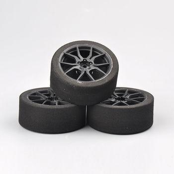12 мм шестигранные аксессуары для гоночных автомобилей с дистанционным управлением, набор из 4 предметов, набор обода для гоночных шин HSP HPI 1/10 на дороге, RC автомобиль