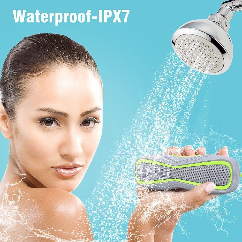 Waterproof Outdoor Sports Bluetooth Speaker Handfree Wireless Stereo Portable Shower Subwoofer Speaker for Iphone Samsung Huawei