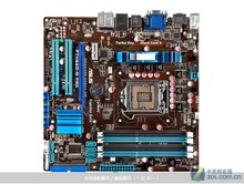 Оригинальный материнская плата P7H55D-M PRO LGA 1156 DDR3 для i3 i5 i7 cpu 16 ГБ USB2.0 H55 Рабочего материнская плата
