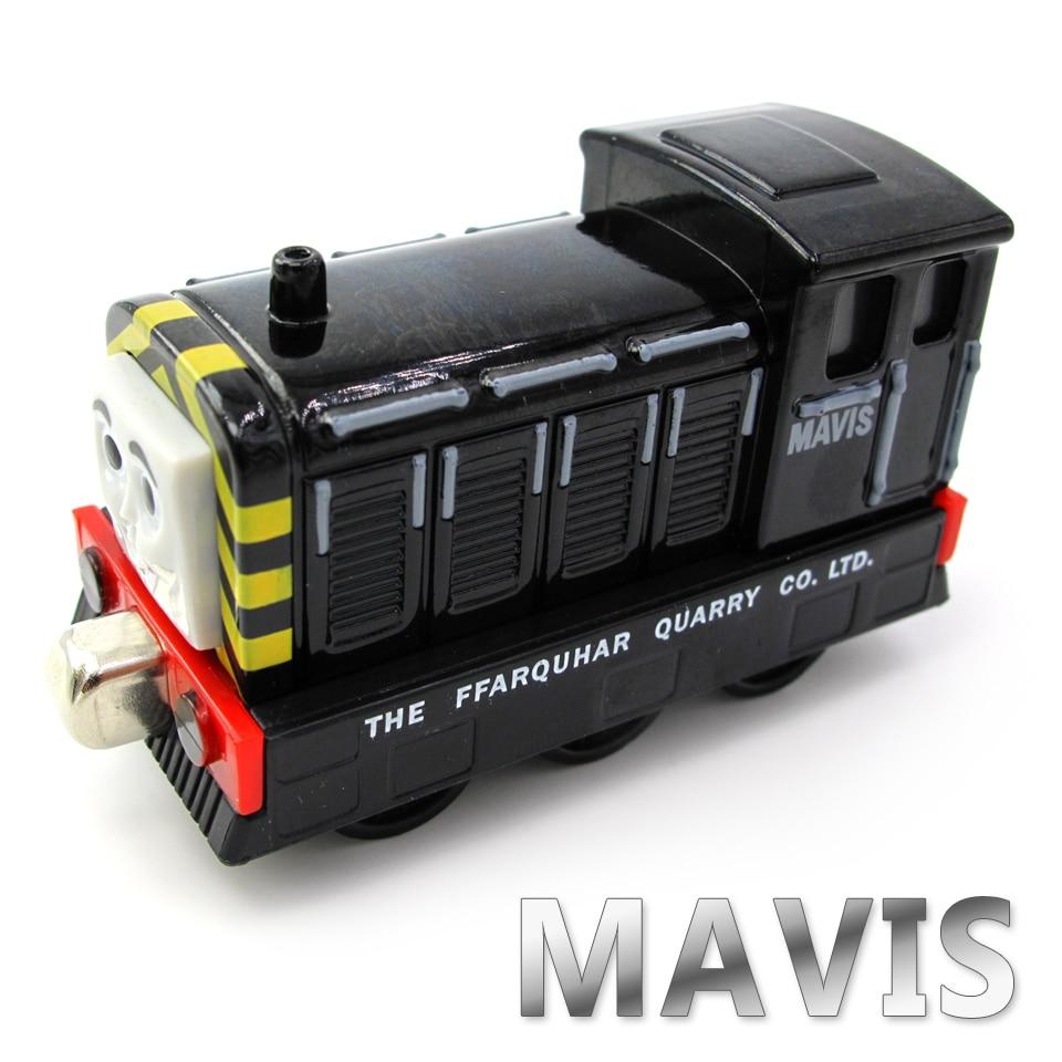 Diecasts Vehicles Thomas T087D MAVIS Thomas And Friends Magnetic Tomas Truck Car Locomotive Engine Railway Train Toys for Boys