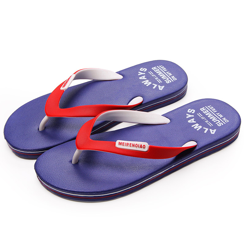 2017 New Fashion Brand Flip Flop Slippers Men Summer Breathable Soft Flat Beach Shoes Europe and The American Trend Slippers sandals men fashion new brand buckle mens flip flop sandals casual slippers brown summer beach sandals men shoes breathable