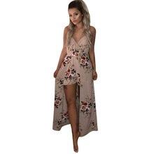 Robe d'été florale femme