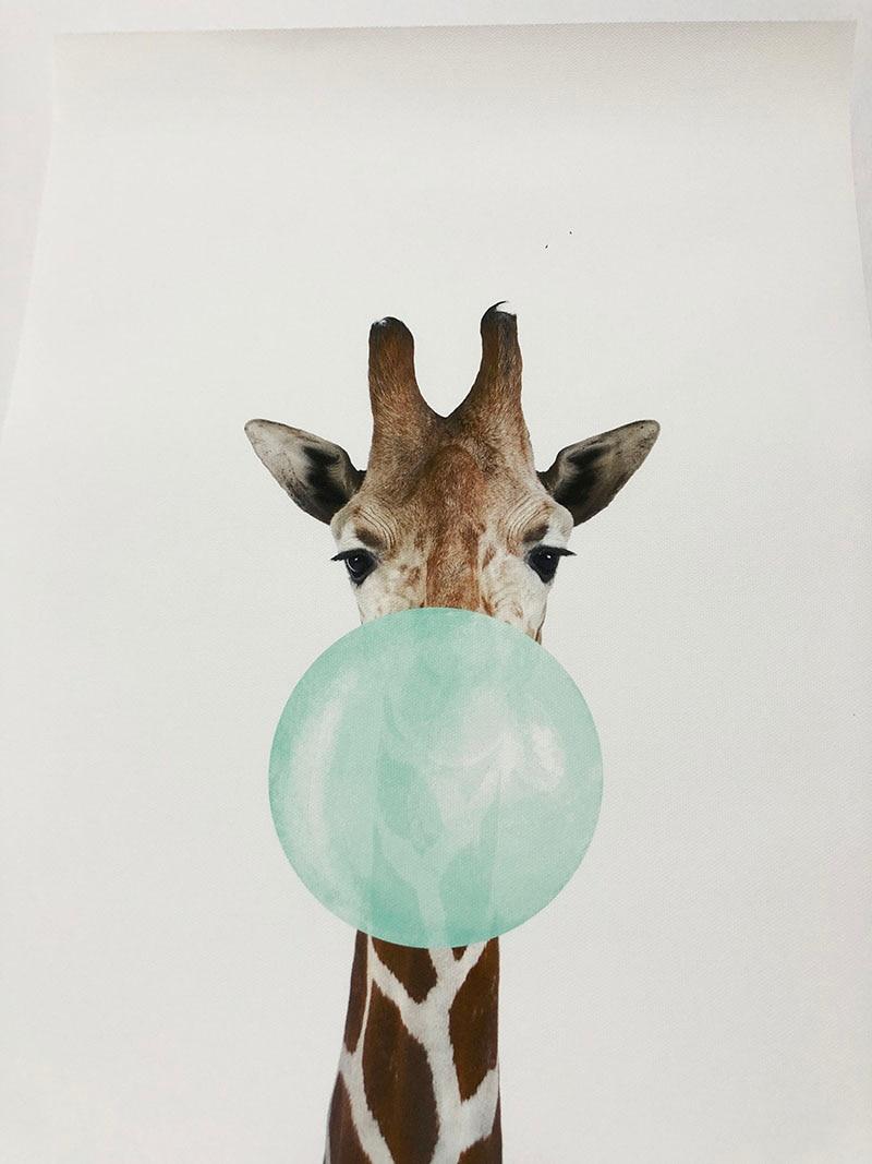 HTB1r7aCXfvsK1RjSspdq6AZepXaV NICOLESHENTING Baby Animal Zebra Girafe Canvas Poster Nursery Wall Art Print Painting Nordic Picture Children Bedroom Decoration