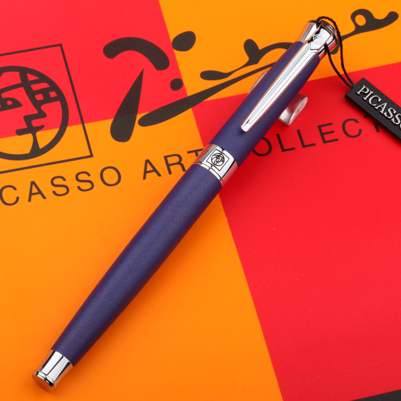 Picasso Luxury Pen 1pcs 0.5mm Metal Golden Fountain Pen Calligraphy Practice Writing Pens Office School Supplies italic nib art fountain pen arabic calligraphy black pen line width 1 1mm to 3 0mm