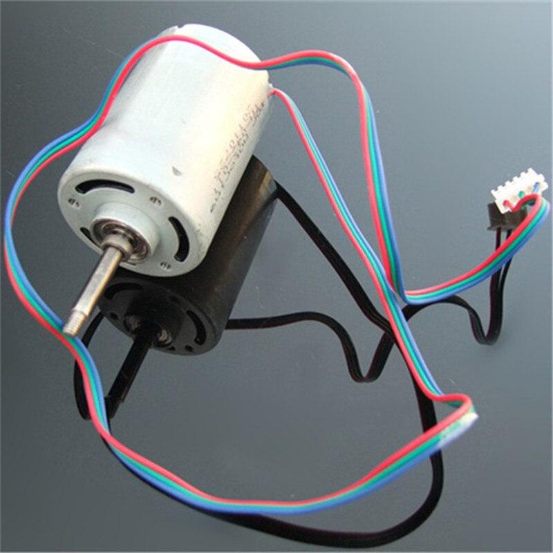 Novo gerador de miniatura 220v duplo rolamento silêncio rotor interno 3-phase brushless dc motor diy alta tensão dínamo frete grátis