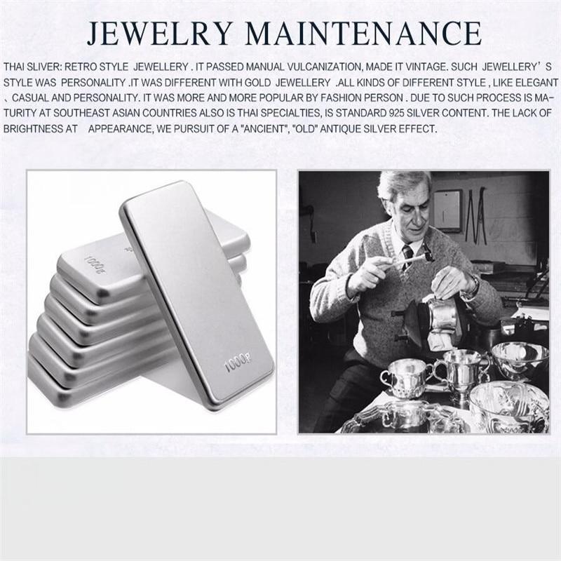 JINSE Antique Thai Argent Bracelets 100% S990 Sterling Argent Carpe poisson Sculpté Bracelet Bracelet Pour Hommes Femmes Bijoux 25mm 45G TYC0-in Bracelets from Bijoux et Accessoires    2