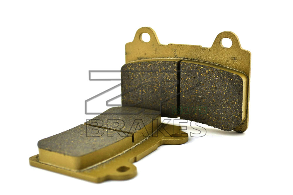 ZPMOTO New Brake Pads Organic For Front <font><b>YAMAHA</b></font> FJ 1200 1988-1995,<font><b>FZR</b></font> <font><b>1000</b></font> R 1987-1988 Motorcycle BRAKING OEM image