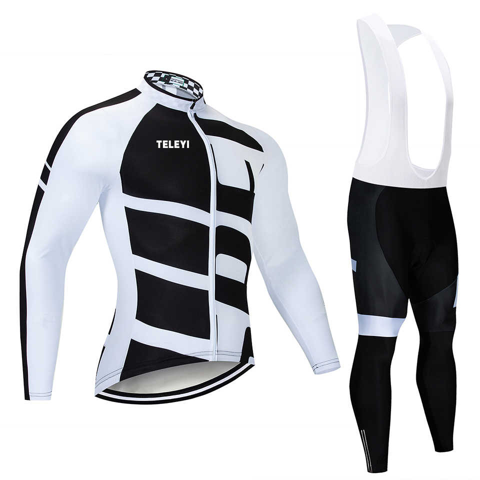 SPECIALIZEDING Long Sleeve Cycling Jersey Set Mountain Clothes Wear Maillot  Ropa Ciclismo Quick Dry Racing Bicycle b67488dd6