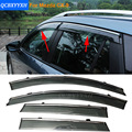 Car Stylingg Awnings Shelters 4pcs/lot Window Visors For Mazda CX-9 2013-2016  Sun Rain Shield Stickers Covers