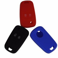 Remote 2 Buttons Silicone Key Cover Case For Chevrolet Epica Lova For Opel Vauxhall Astra