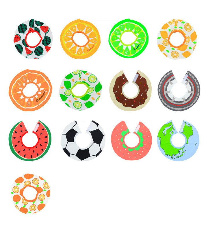 New Cotton Baby Scarf Baby Bibs For Boys Girls Burp Cloths Baberos Lovely Kids Collars O Ring Neckerchief in Bibs Burp Cloths from Mother Kids