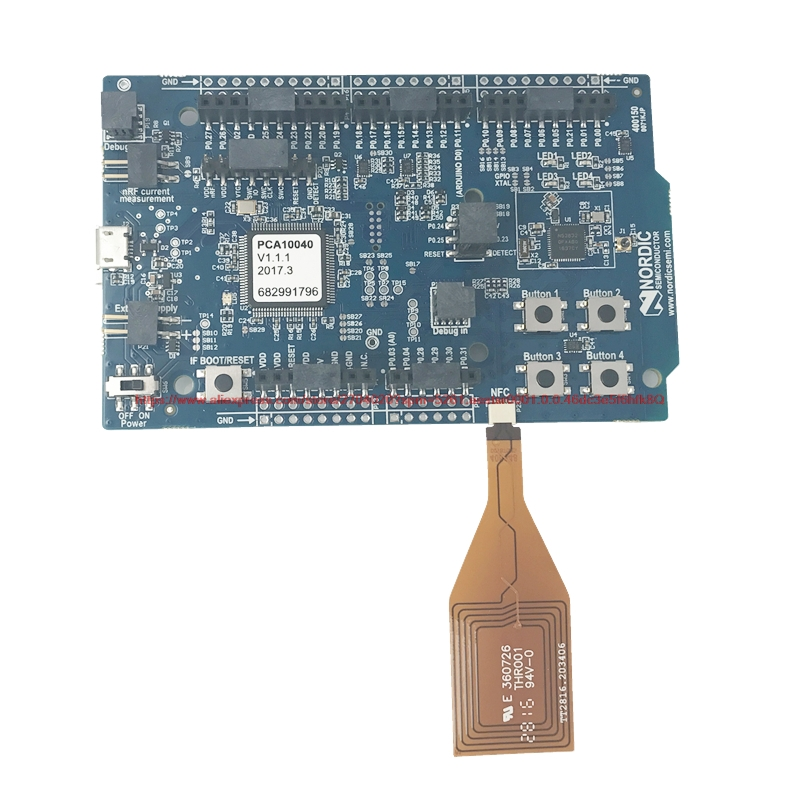 NRF52 DK Nordic Bluetooth development board evaluation module Kit nRF52832 SoC pca10040