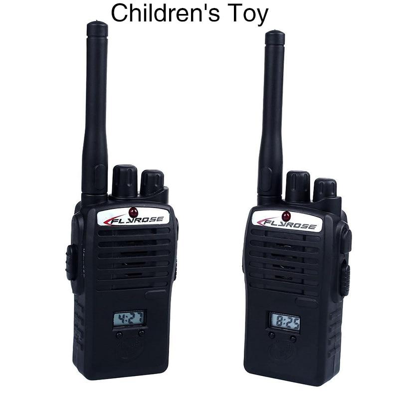 2 Pcs/set Portable Interphone Electronic Toys Hot Walkie Talkie Wireless