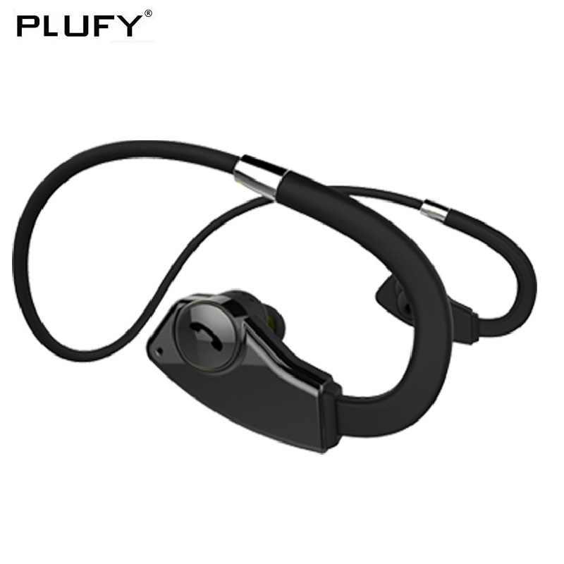 PLUFY bezprzewodowe słuchawki bluetooth słuchawki sportowe bieganie Auriculares Inalambrico wodoodporne słuchawki muzyka Ecouteur Audifonos