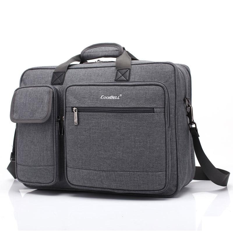 Pochette d'ordinateur de grande capacité pour Macbook Air Pro 15 17 pouces PC ordinateur portable caméra d'affaires sac à main ordinateur portable messenger pour HP DELL Accer
