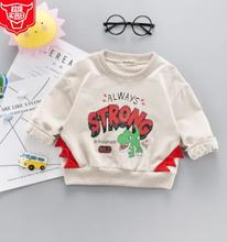Letter Printed Baby Girl Boys Clothes 2019 Spring New Arrival  Kids Tops Costume for 1 2 3 4 Year SY-F191002