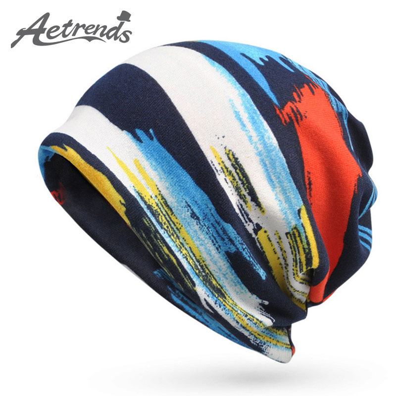 [AETRENDS] Fashion Brand Hip Hop Beanies Skullies Hats For Men Women Unisex Hat Baggy Cap Z-5090