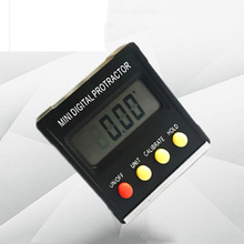 360 Degree Mini Digital Protractor Inclinometer Electronic Level Magnetic Base Angle Gauge Measuring Tool