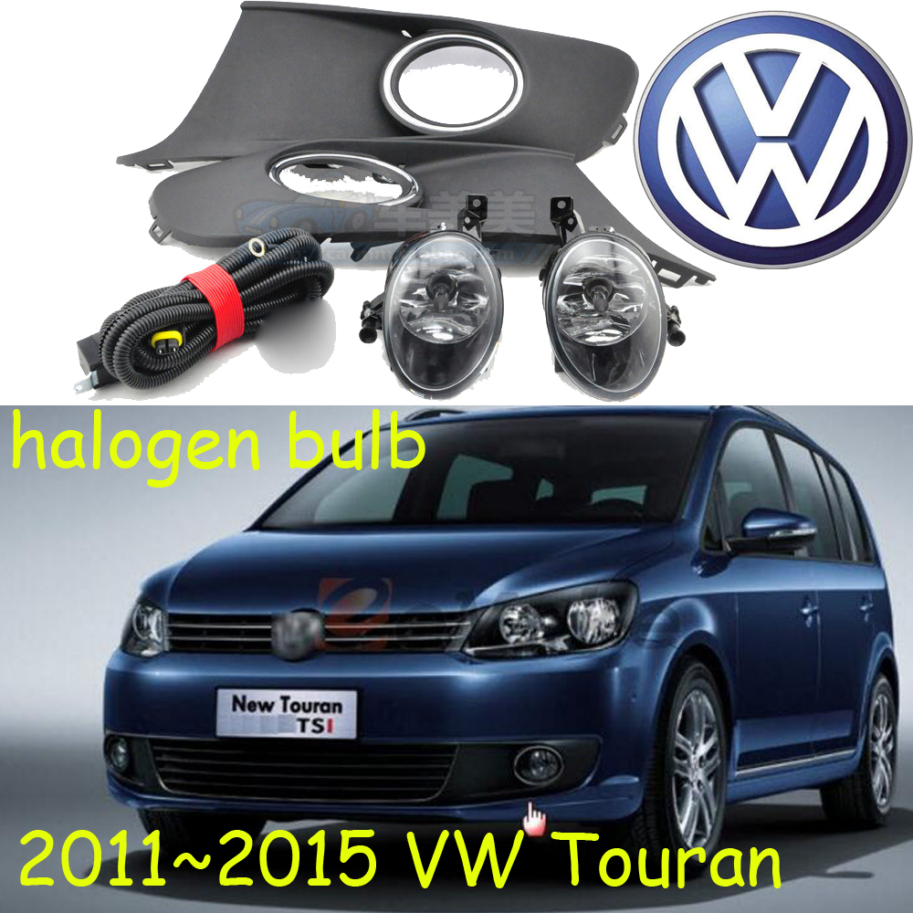 Free Shipping 2pc Lot Car Styling Led Lamp Canbus Daytime Volkswagen Touran Exterior Light Control Wiring System Styling20112015 Fog Light2pcs Wire Harness