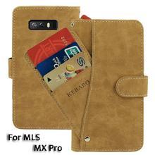 цена на Vintage Leather Wallet MLS MX Pro 6
