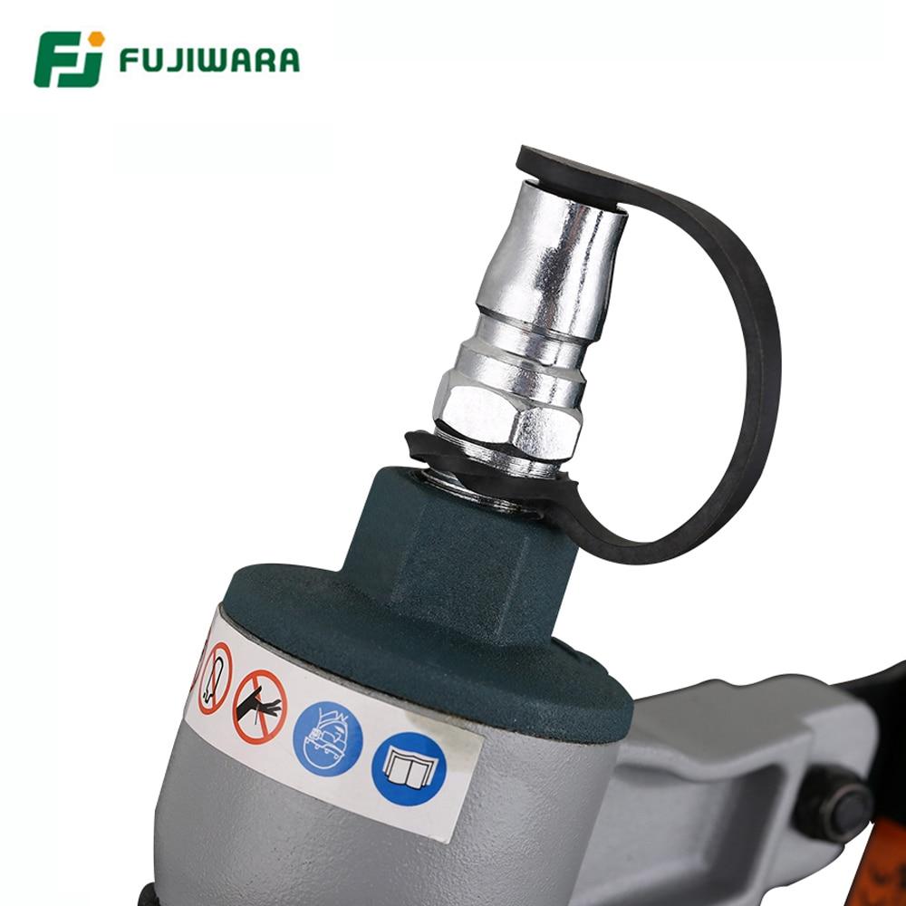 FUJIWARA 3-in-1 dailidės pneumatinis nagų pistoletas 18Ga / 20Ga - Elektriniai įrankiai - Nuotrauka 4