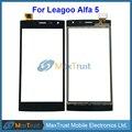 """Top Quality 5.0 """"Para Leagoo Alfa 5 Alfa5 Touch Screen Toque Vidro Digitalizador Painel Sensor de Cor Preta Frete Grátis"""