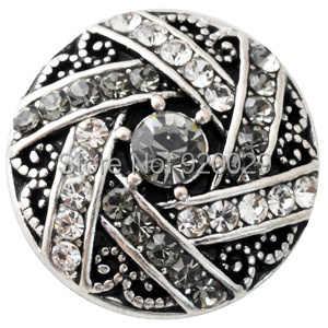 D02183 Rhinestone najnowszy rivca przystawki dla 18mm snap bransoletka biżuteria