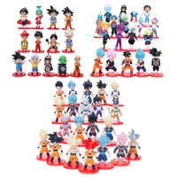 Dragon Ball super Saiyan végéta Gohan Goku troncs Freeza végétto Syn Dragon Ball Z Figure jouet PVC modèle Anime Collection enfant jouet