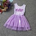 1 года девочка день рождения туту dress полосы девушка партийной школы носить новорожденных bebes одежда крещение dress infantil vestidos