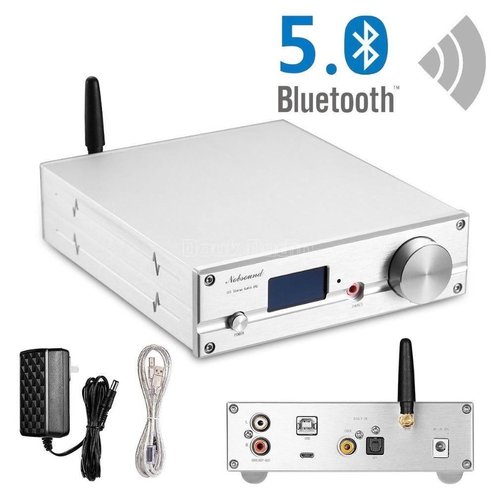 HiFi ES9038Q2M DAC Bluetooth 5.0 USB XMOS Audio Decoder Stereo DSD512 APTX HD Desktop Mini Amplifier With headphone Jack-in Amplifier from Consumer Electronics    2