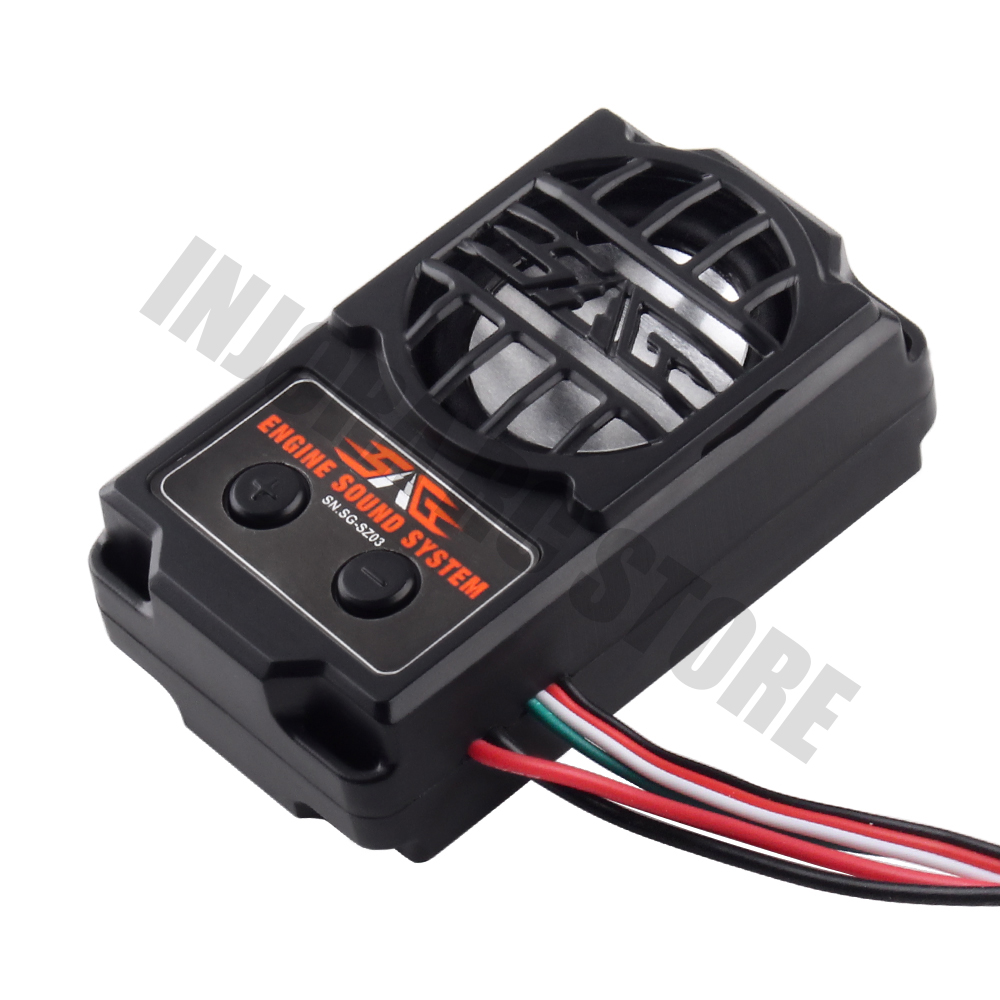 5 Modes Engine Sound Simulator 70*40*23mm For 1/10 RC Model Crawler Car