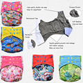 2017 hot sale bamboo charcoal diaper cute nappy reusable breathable baby AIO cloth diapers one size fit all with Double Gussets