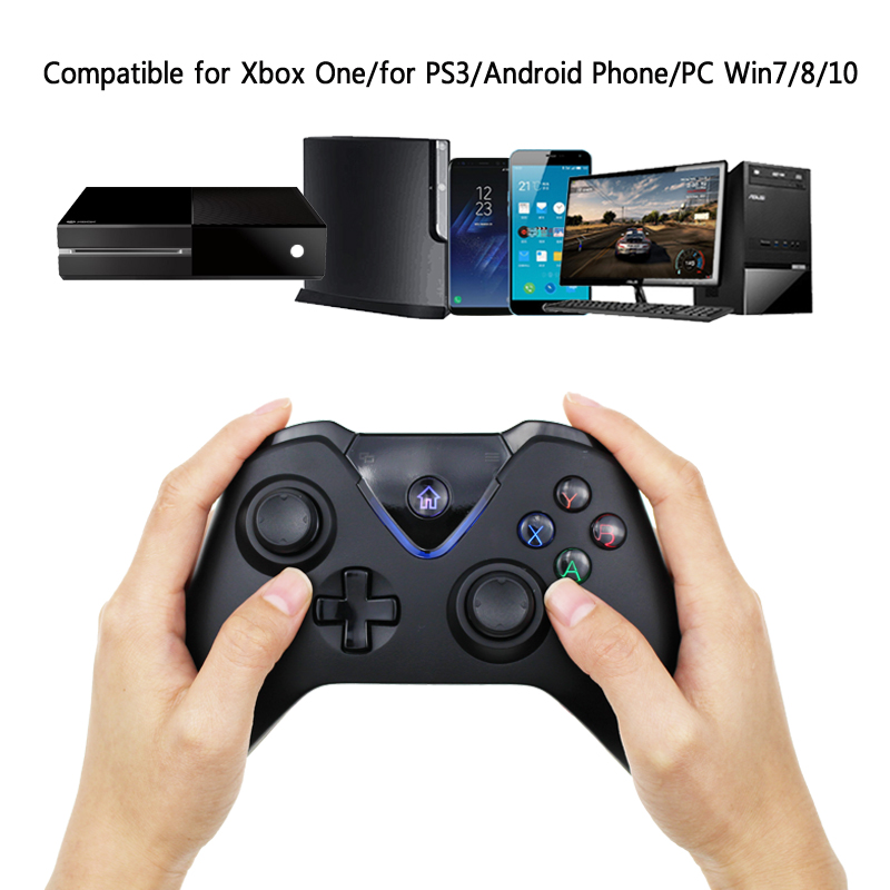 US $27 64 21% OFF|2 4G Wireless Controller Gamepad For Xbox One Bluetooth  Joystick For Microsoft Xbox One Joypad For PS3/PC/Android-in Gamepads from