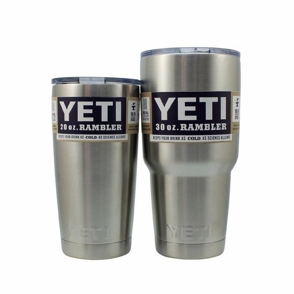 2016 <font><b>hot</b></font> 304 Stainless Steel 20/30 oz <font><b>Yeti</b></font> <font><b>Cups</b></font> Cooler <font><b>YETI</b></font> <font><b>Rambler</b></font> <font><b>Tumbler</b></font> <font><b>Cup</b></font> Vehicle Beer Mug <font><b>Bilayer</b></font> Vacuum Insulated