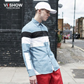VIISHOW Men Casual Dress Striped Shirt Slim Fit Long Sleeve Chemise Homme Cotton Oversized Shirt Camisa Hombre CCZ5963