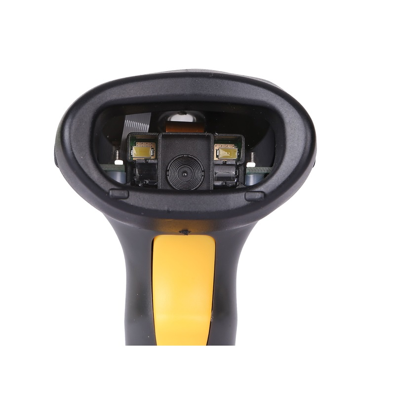 2D Wireless Barcode Area-Imaging Scanner 2D Wireless Barcode Gun for Supermarket POS System and Warehouse DHL Express Logistic
