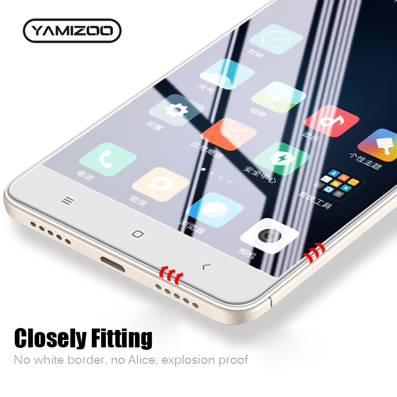 YAMIZOO Protective-Glass Screen-Protector Flim Xiaomi Redmi Note-4 4x for 9H on Global