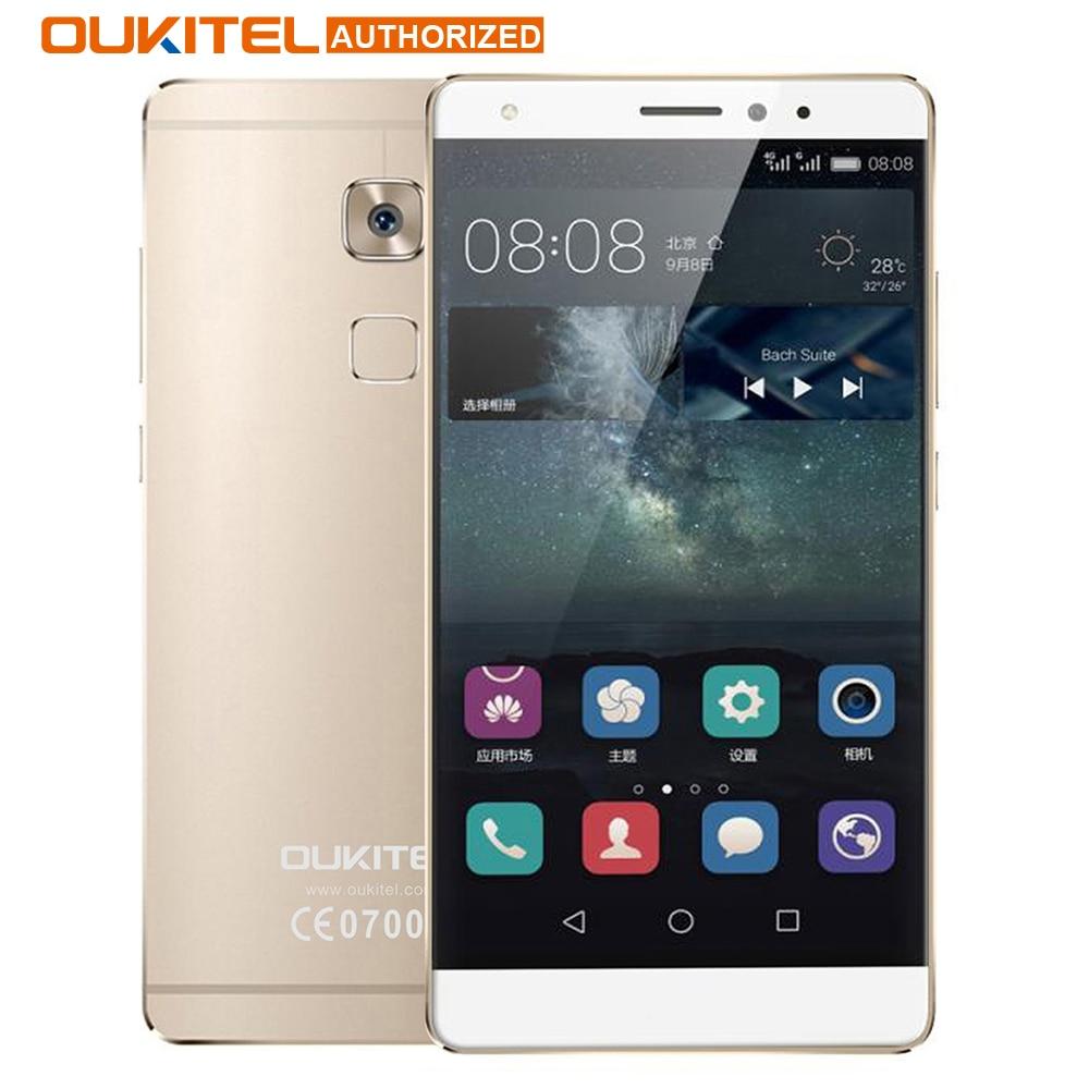 Oukitel u13 4g teléfono móvil 5.5 pulgadas android 6.0 octa mtk6753 Core 1.3 GHz