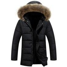 New Winter Jacket Men Casual Thicken Warm Cotton-padded Jackets Men's Hooded Windbreaker Outwear Parkas Plus