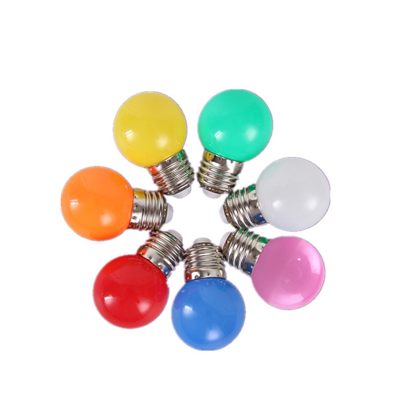 Led Bulb Lamp Bomlillas E27 B22 GU10 E14 Colorful Lampada Ampoule RGB Led Light SMD 2835 220V G45 Globe Bulbs Home Decor Lights