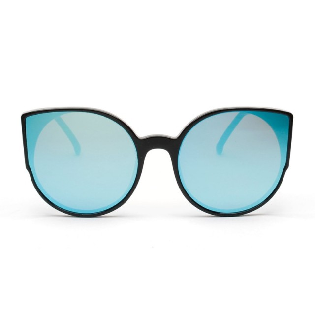 UV400 Women Sexy Cat EyeMen Sunglass Designer Luxury Female Frame Mirror Lens Unique Shaped Metal Frame SunGlasses