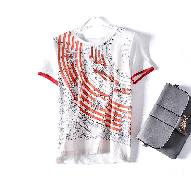Kadın Giyim'ten Tişörtler'de Yeni blok buster dimi pamuk kısa kollu T gömlek kadın t ekleme T shirt yaz küçük çizgisiz üst giysi'da  Grup 1